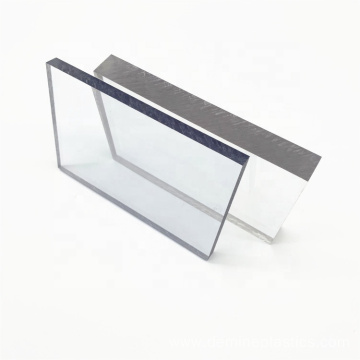 Plastic clear sheet solid polycarbonate sheet