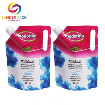 Custom Good Quality Liquid Plastic Spout Pouch Bag