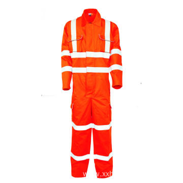EN11611 flame resistant workwear coverall