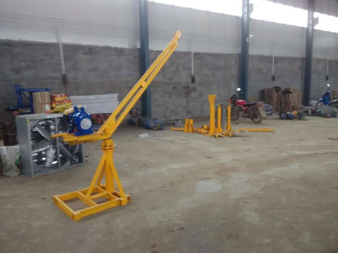 outdoor lift crane