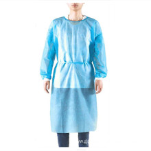 Hospital Disposable  Plastic Laboratory Isolation Gowns