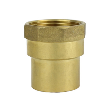 Brass  Female Straight Connector Female-Cu