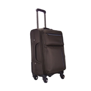 Aluminum handle nylon travel luggage bags suitcases