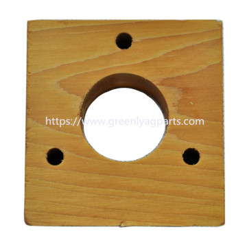 H84838 JohnDeere combine shoe auger wood block bearing