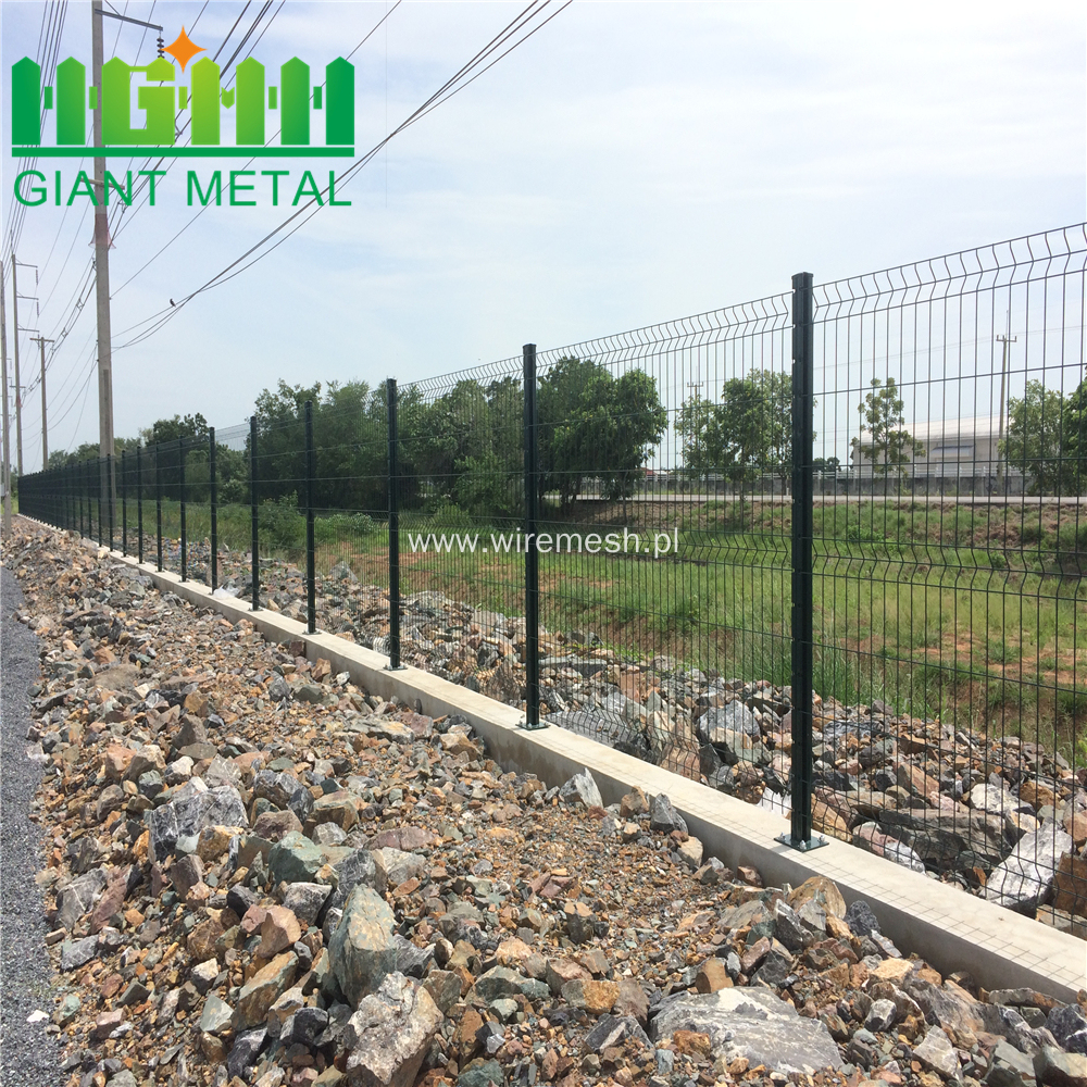 Hot Dipped Galvanized Models Fences For Houses Factory