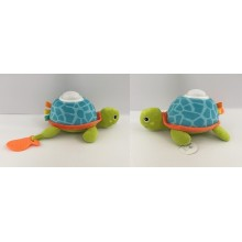 Turtle plush with light and sound