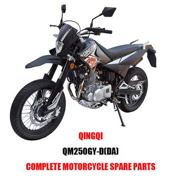 QINGQI QM250GY-D DA Engine Parts Motorcycle Body Kits Spare Parts Original