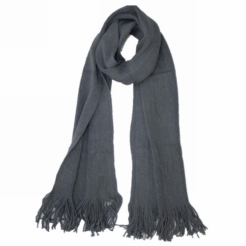 High Quality Knitted Fringe Scarf