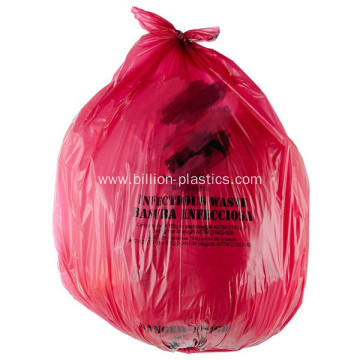 High Density Red Trash Bag