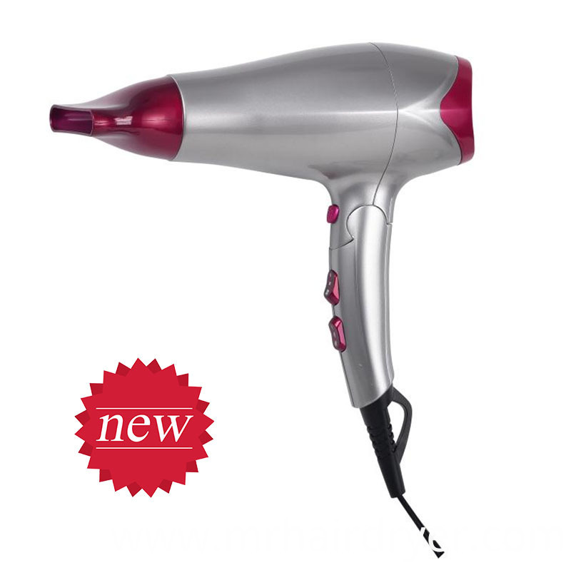 low noise hair dryer