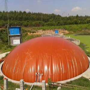 Flexible Inflatable Tarpaulin Anti-leaking Biogas Storage Tank