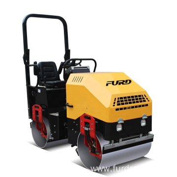 Road Construction Machinery Hydraulic Double Drum Road Roller Vibratory Compactor FYL-900