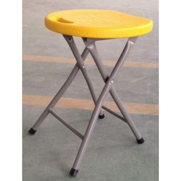 Light weight plastic folding stool for outdoor