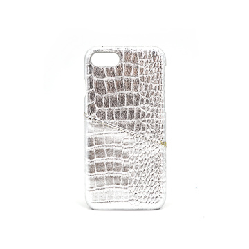 New Crocodile Leather Phone Case with Card Slot