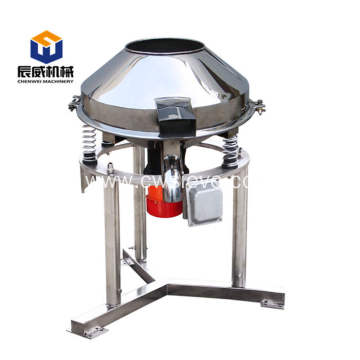 Automatic high frequency sifter for sugar