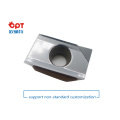 PCD face milling wiper inserts for aluminum