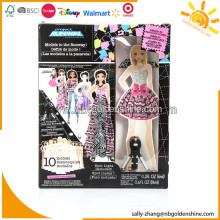Runway Show Paper Doll With Spot Light