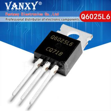 10pcs Q6025L6 Q6025 TO-220 Q6025L6TP TO220 thyristor triac 25A600V