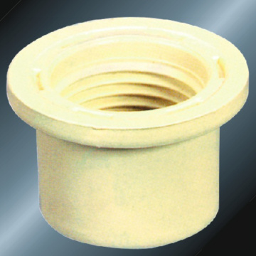 DIN PN16 Water Supply Upvc Thread Reducer Grey