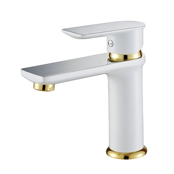 White Spray Basin Faucet OEM