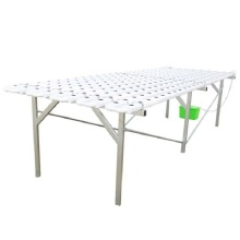 4m/8m Stainless Steel Shelf  Flat Hydroponic System