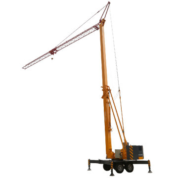 Superior driving performance Mini tower crane