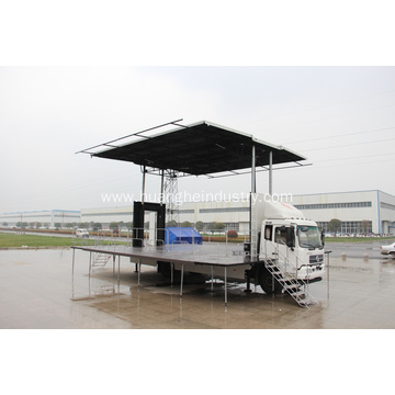 Mobile Stage Truck (Two Sides Open)