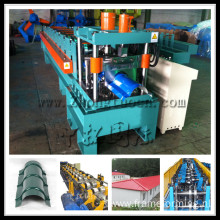 metal roof tile ridge cap cold forming machine