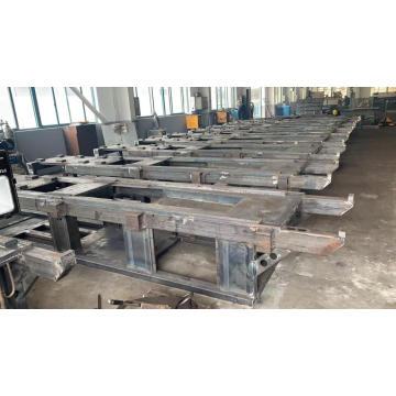 Injection molding machine equipment basement