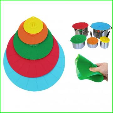 4 Size Durable Silicone Seal Lids Set