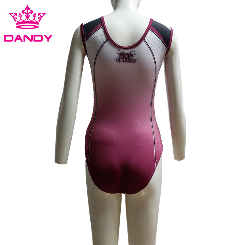 purple gymnastics leotards