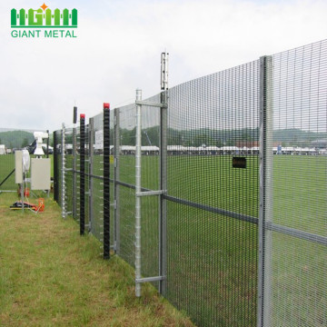 Hot-dipped Galvanized 358 Security Prison Mesh Fence
