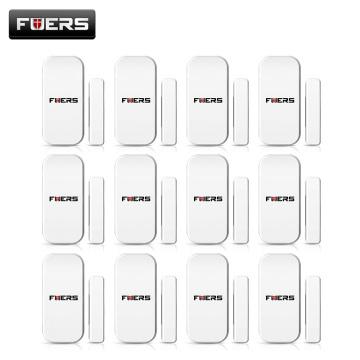 FUERS 433MHZ Wireless Window Door Security Smart Door Sensor for WG11 G18 G19 Home Security WIFI GSM 3G GPRS Alarm System