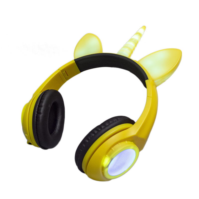 Led light headphone