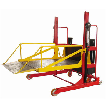 2000kg Movable Mobile Loading and Unload lift platform
