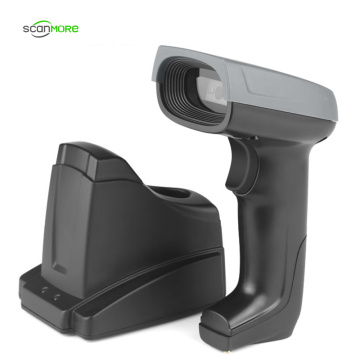 1D Handheld Wireless CCD Scanner With Memory Stock