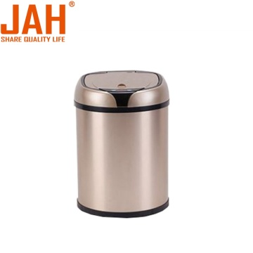 JAH Round Automatic Smart Automatic Trash Bin Dustbin