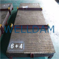 chromium carbide overlay bimetallic seamless submerged arc welding composite plate