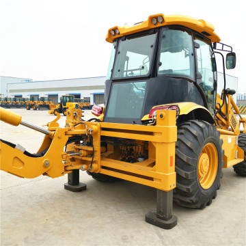 Backhoe Wheel Loader  with Excavator