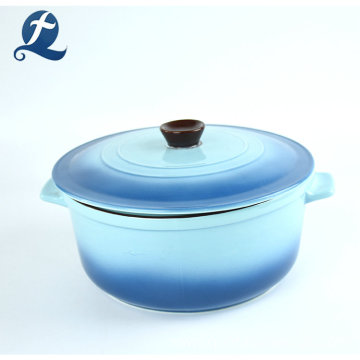 Dinnerware custom cooking tableware ceramic casserole dish with lid