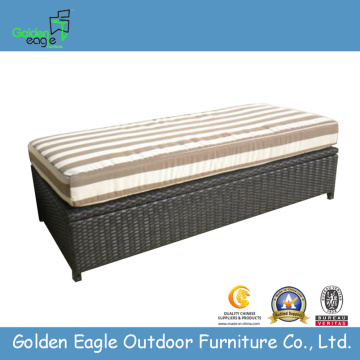 Modern Patio Wicker Stroage Box