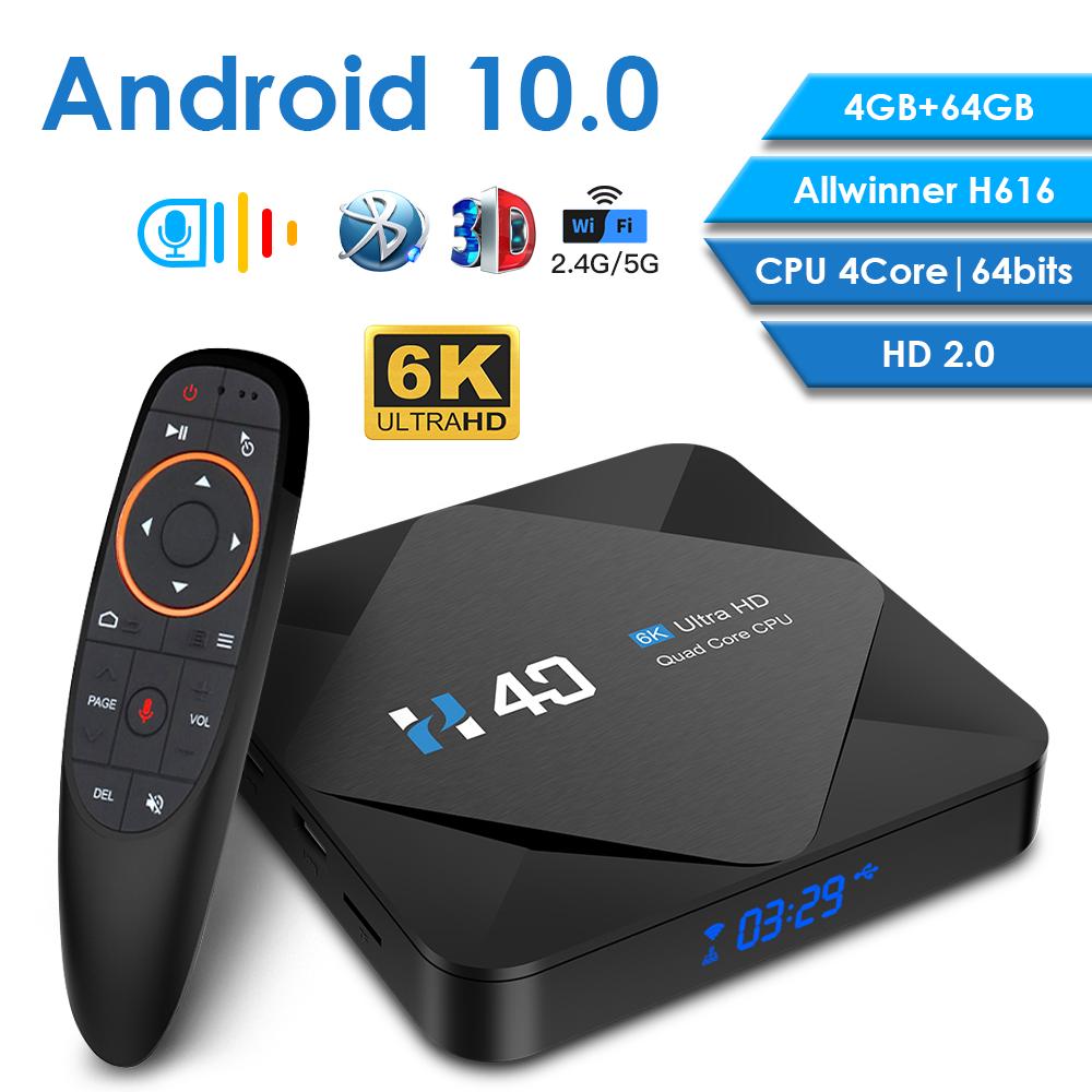 Android box H616 smart tv box HD 4GB 32GB 64GB tv box Android 10 Bluetooth WiFi 2.4G/5G android box tv Media Player Set Top Box