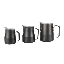 Stainless Steel Coffee Milk Jug with Pour Spout
