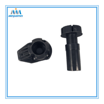 Plastic adjustable cabinet legs in ABS Material