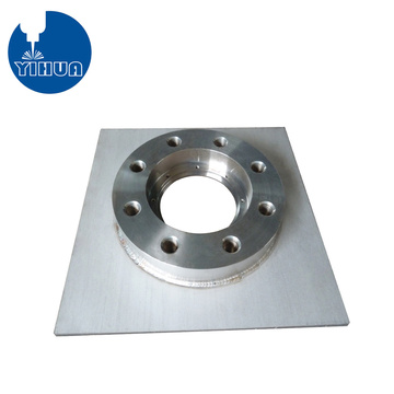 Custom Fabriation & Welding Aluminum Flange