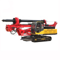 Ground mobile pile driving machine