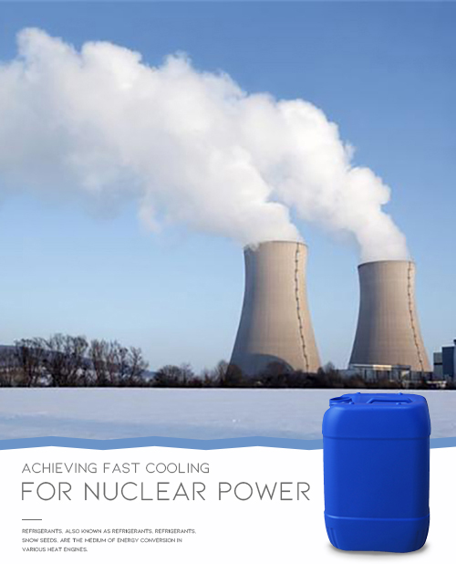 Liquid for Nuclear Power