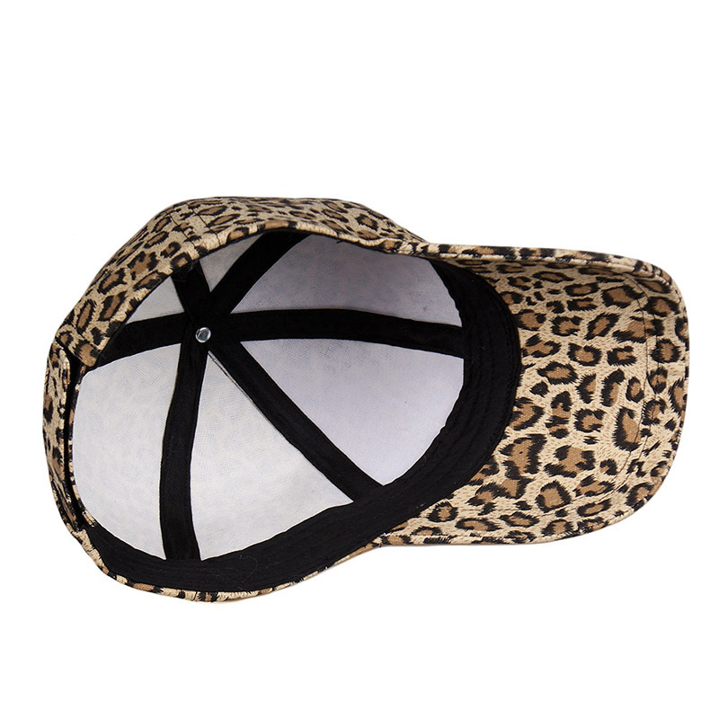 Leopard cap baseball cap man and woman (8)