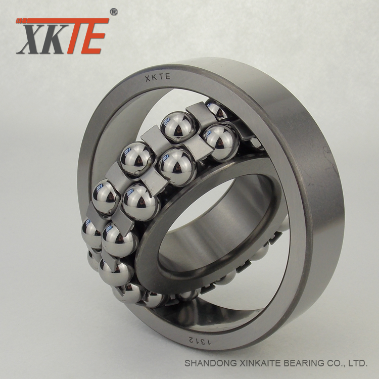 Double Row Iron Self Aligning Ball Bearing 1312