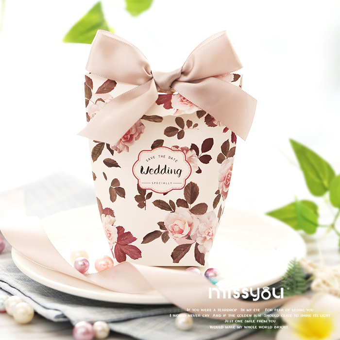 European wedding favor and gift box